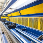 Aluminium-Bearbeitungszentrum für die Bearbeitung von Aluminiumprofilen für Fenster, Türen und Fassaden