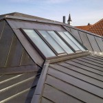 Stadt Regensburg, Haus der Musik, Dachoberlichter aus Schüco Fassadenelementen mit Dacheinsatzfenstern