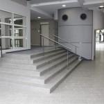 Fachhochschule Koblenz, Edelstahl-Handläufe